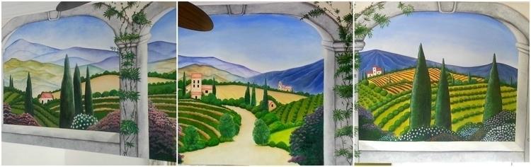 Tromp style mural Gran Porto Re - michellecortazar10 | ello