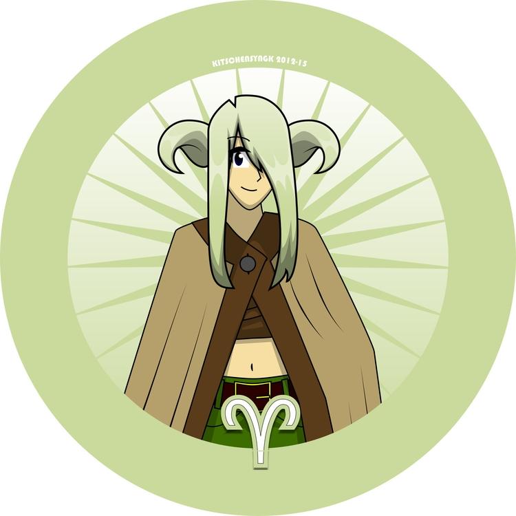 Ari Aries Ram - characterdesign - kitschensyngk | ello