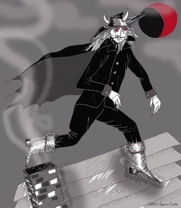 Steampunk magazine illustration - laurencurtis   ello