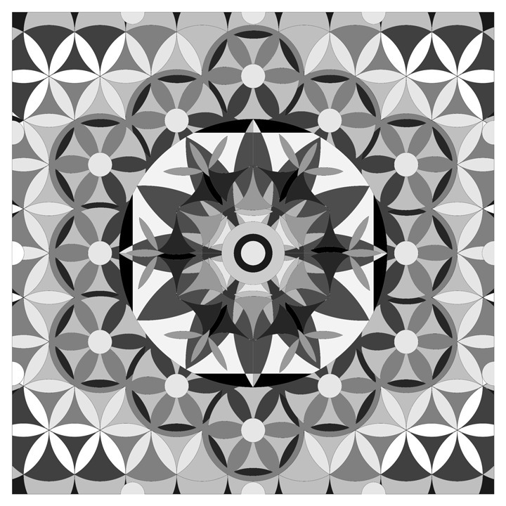 illustration, mandala, geometry - emarchena | ello