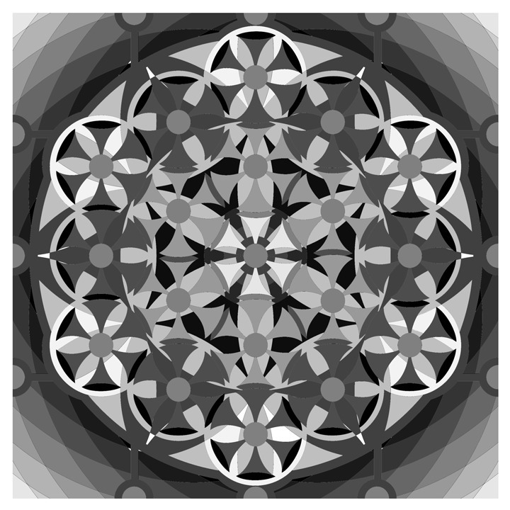 illustration, mandala, kaleidoscope - emarchena | ello