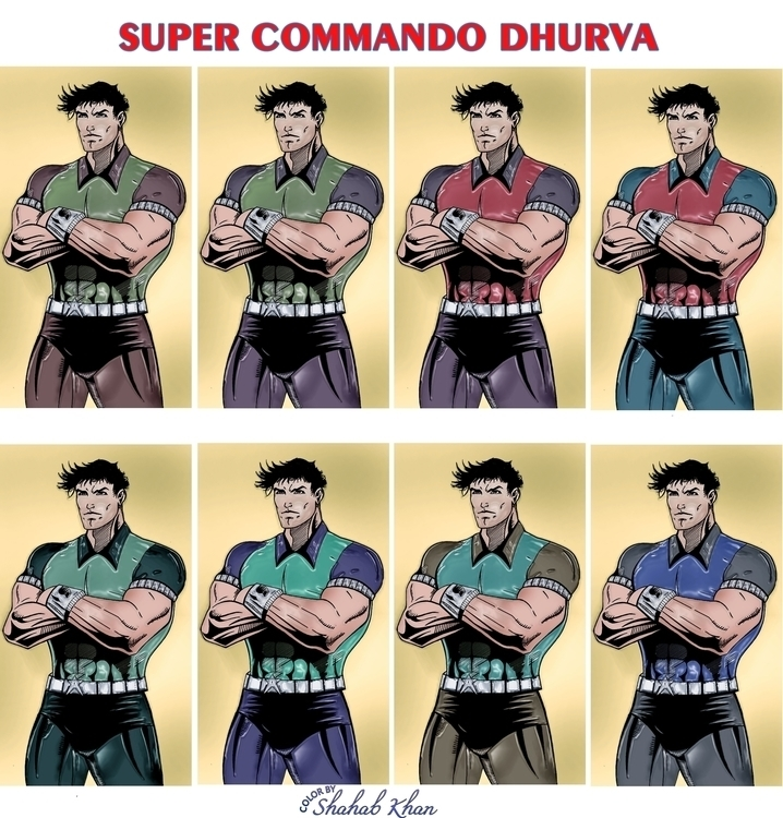 Super Commando Dhruv Color Shah - shahab01 | ello