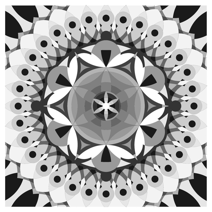 illustration, geometry, kaleidoscope - emarchena | ello
