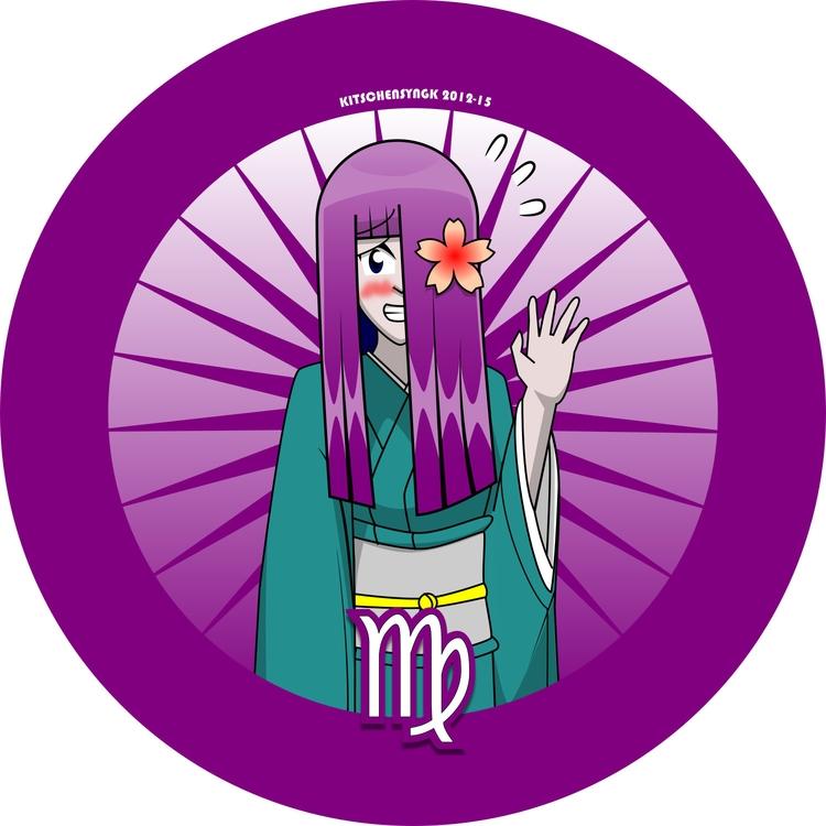 Kiyoko Virgo Virgin - characterdesign - kitschensyngk | ello