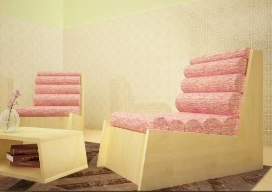 Poltrona Cyl - furnituredesign, wool - melissa_domenici | ello