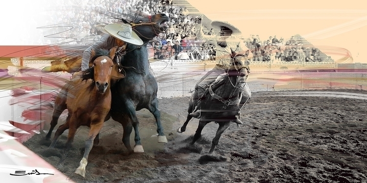 speed - charroinaction, charros - emilioartist | ello