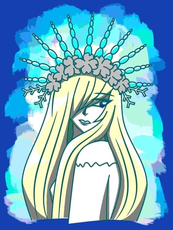 Snow Queen 2015 Inkscape/Krita - kitschensyngk | ello