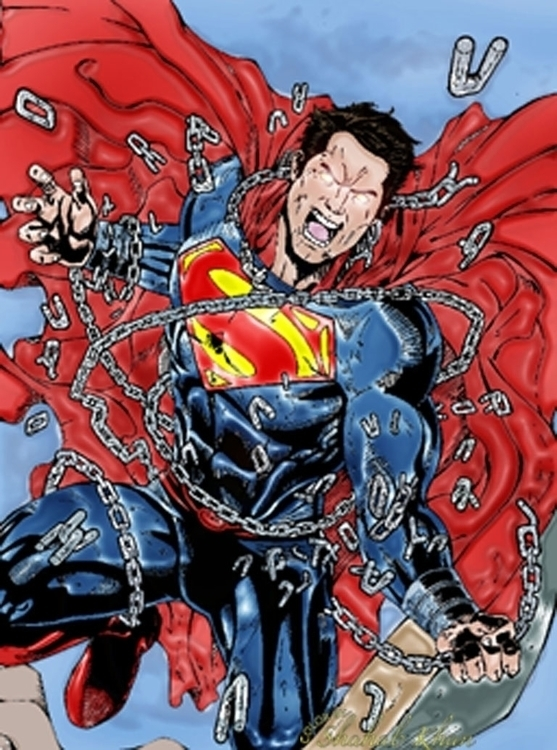 Superman Color Shahab Khan - superhero - shahab01 | ello