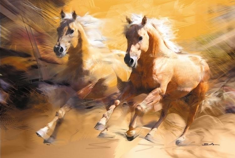 Palomino - palominohorse, horsesinaction - emilioartist | ello