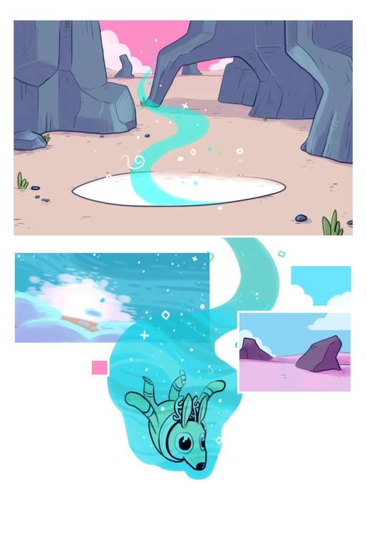 Space Deer escapes comics - spacedeer - indiana_jonas | ello