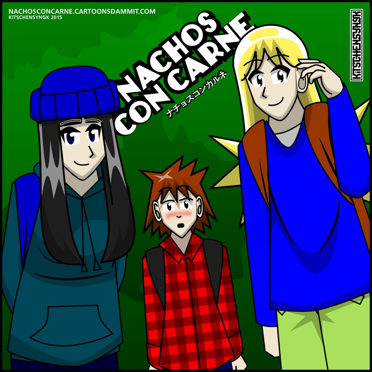 pic - comcis, webcomics, characterdesign - kitschensyngk | ello
