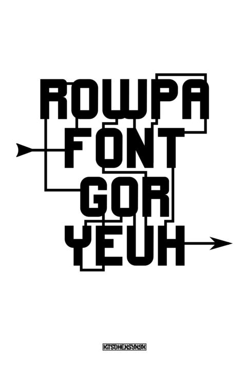 Literal Thinking 4 - typography - kitschensyngk | ello