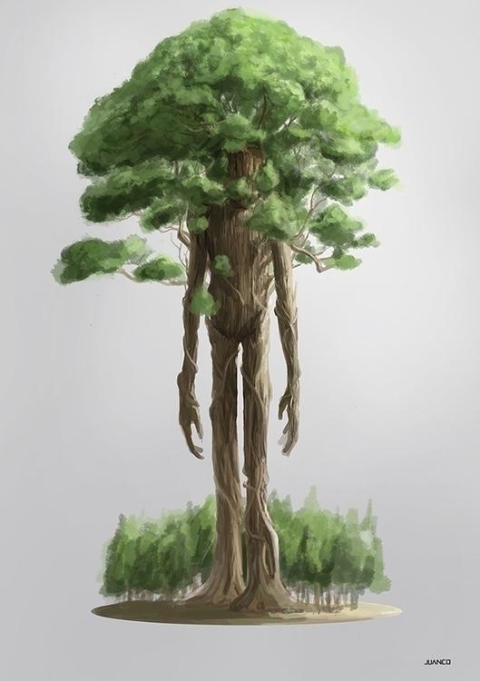 FOREST - characterdesign, conceptart - juanco-1165 | ello