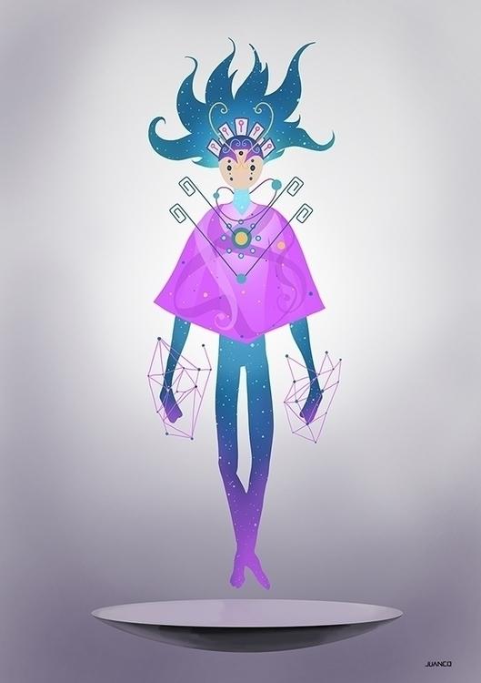 COSMOS - illustration, characterdesign - juanco-1165   ello