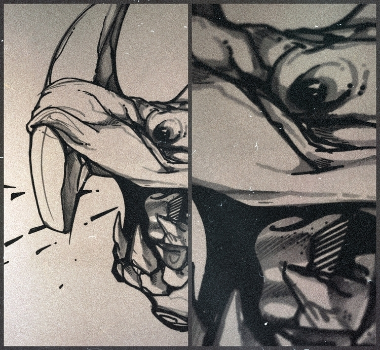 monster, illustration, sketch - lidiagh | ello