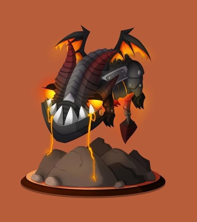 Lil'Deathy Dragon Deathy. eat,  - leassel | ello
