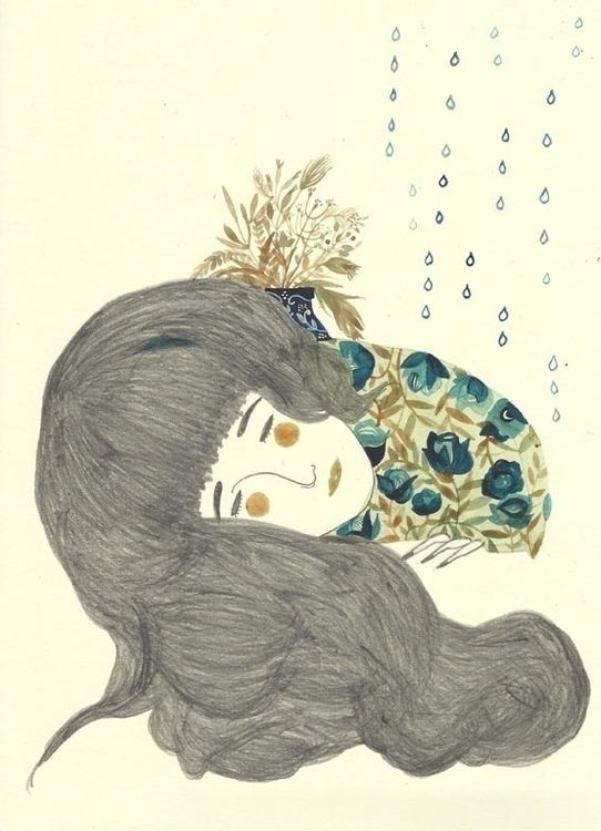haiku, paper, drawing, illustration - spoto | ello