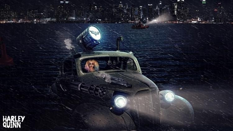 Harley Quinn - joshnx | ello
