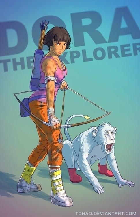 Dora explorer - badass, dora, boots - tohad | ello