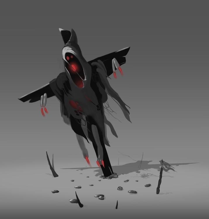 scarecrow  - dinamikalinii | ello