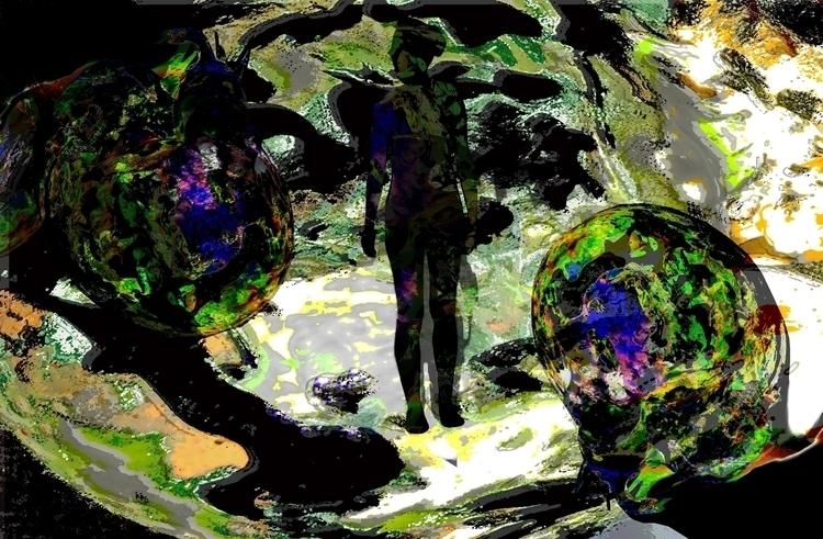 Shadow Unknown - digitalart, conceptart - aiakira | ello