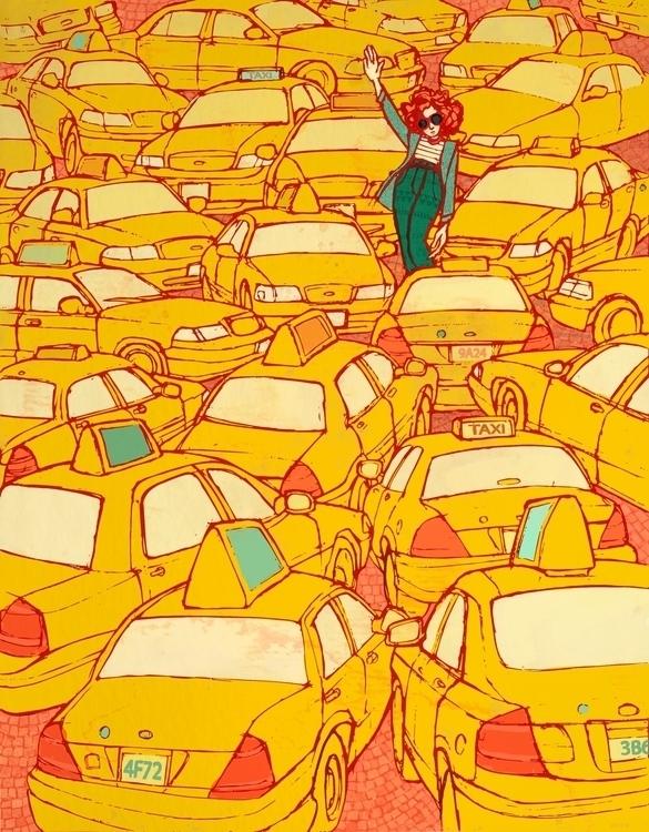 Lady Liberty - fashion, NYC, taxi - brennathummler | ello