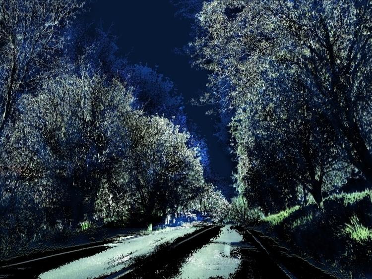 Forest - artwork, digitalart, digital - aiakira | ello