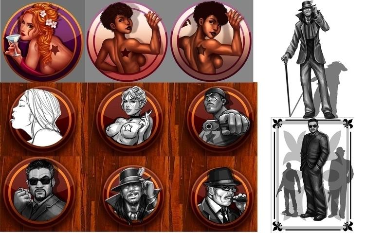 illustration#digitalart#design#characterdesign#photoshop#painting#davisvrworks#drawing#conceptart - goncalosousa   ello