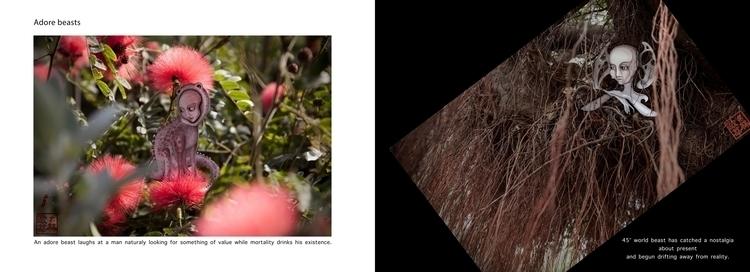 artbook, portfolio, creature - oksin | ello