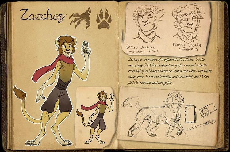 Explorers Tehare 3/5 - characterdesign - madmeeper | ello