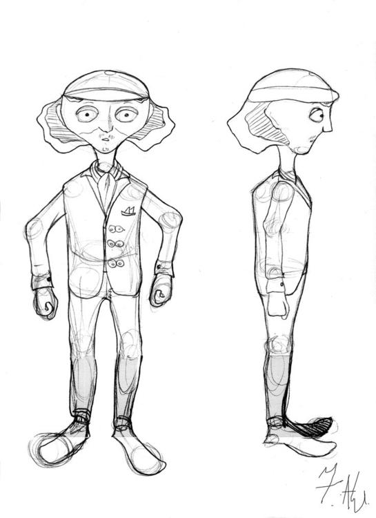 Zaccaria, comic book Dreaming - characterdesign - fagfedericaaglietti | ello