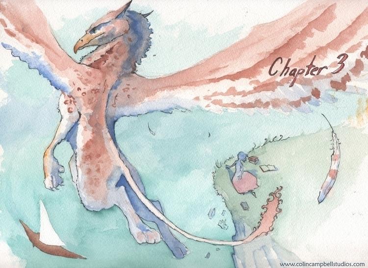Stasya Gryphon - Chapter 3 - illustration - ccampbellart   ello