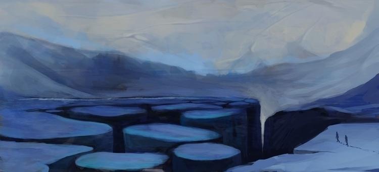 Winter - illustration - ccampbellart   ello