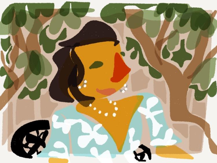 Happy Day - illustration - madelinekohm | ello