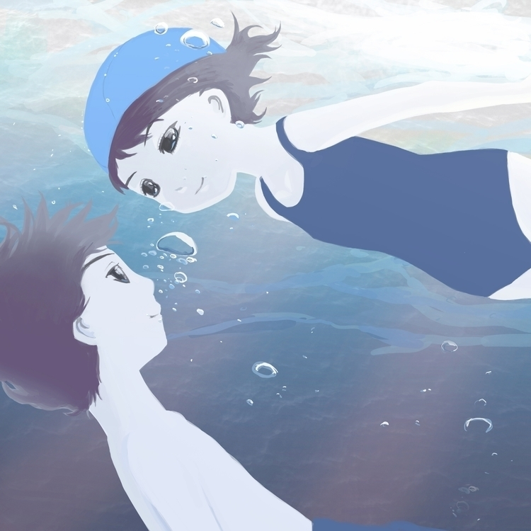 Summer Story 02 - illustration, collection - sasphere   ello
