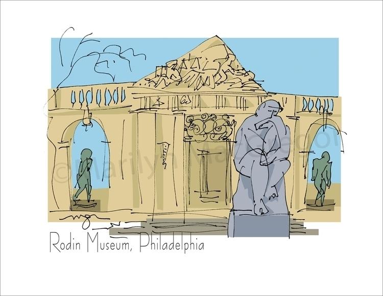 Rodin Museum, Philadelphia - ar - macgregorart | ello