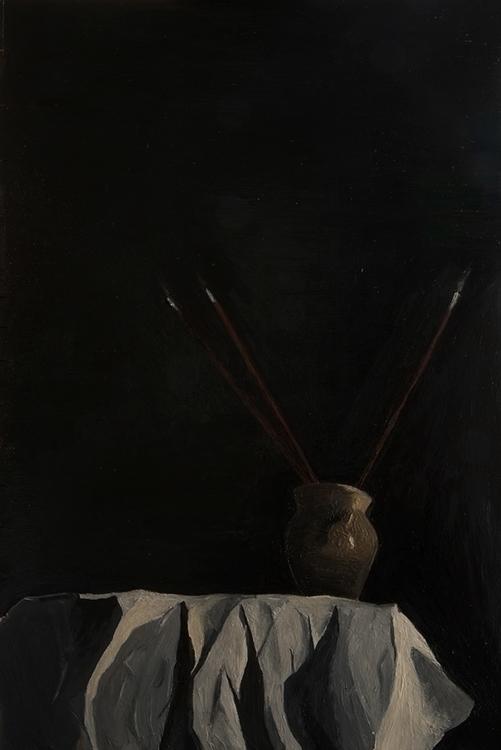 life small pot brushes cast sha - jonah_fried | ello