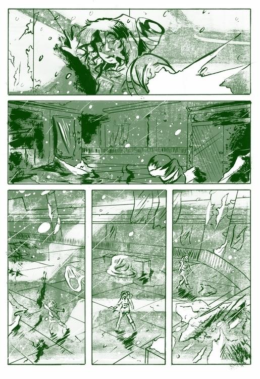 illustration, comics, drawing - jjscottillustration | ello