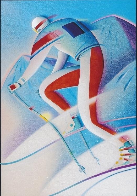 Albertville Olympics Poster - davecalver | ello