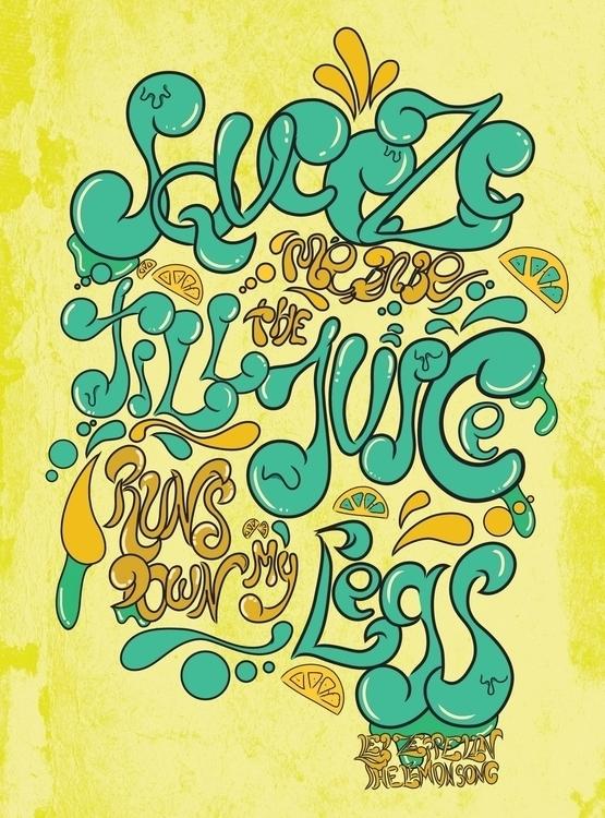 Lemon Song - lettering, thelemonsong - nfiasche | ello