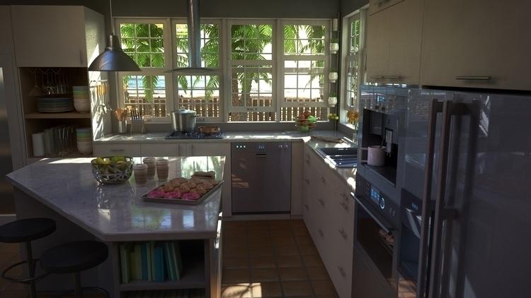 Beach Kitchen Design (2-3 - phoshi | ello