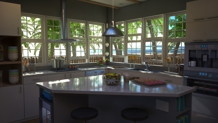 Beach Kitchen Design (1-3 - phoshi | ello