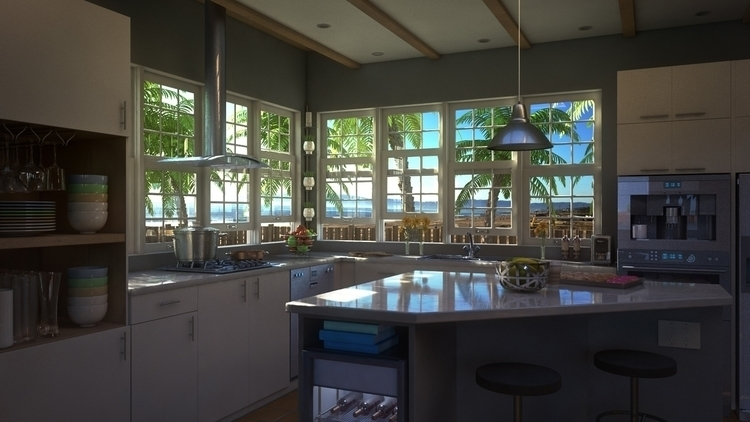 Beach Kitchen Design (3-3 - phoshi | ello