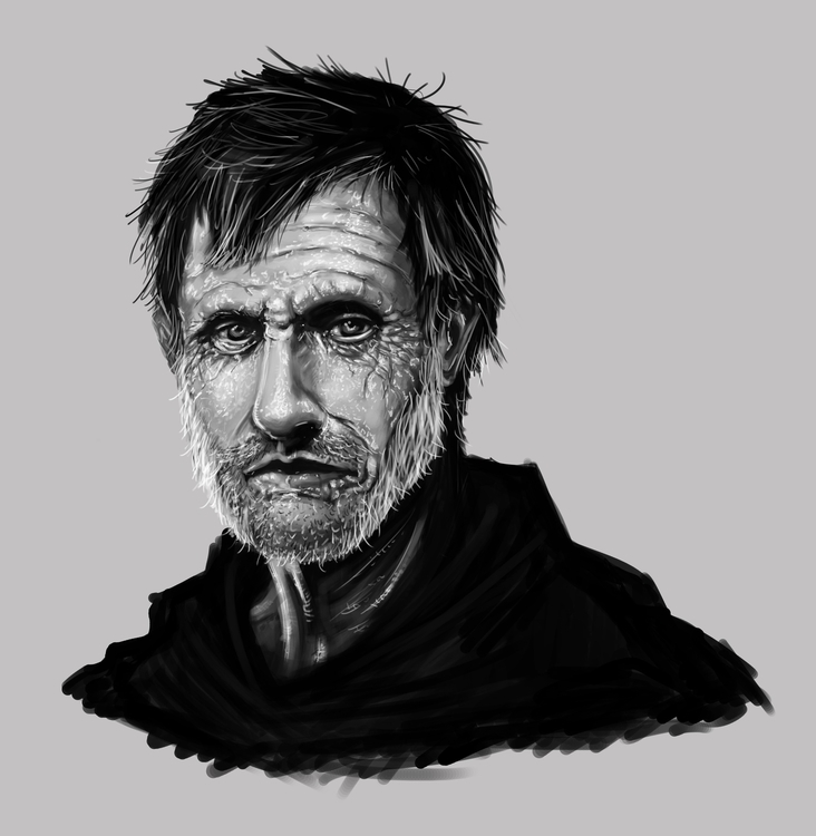, illustration, painting, characterdesign - bryanmahy | ello