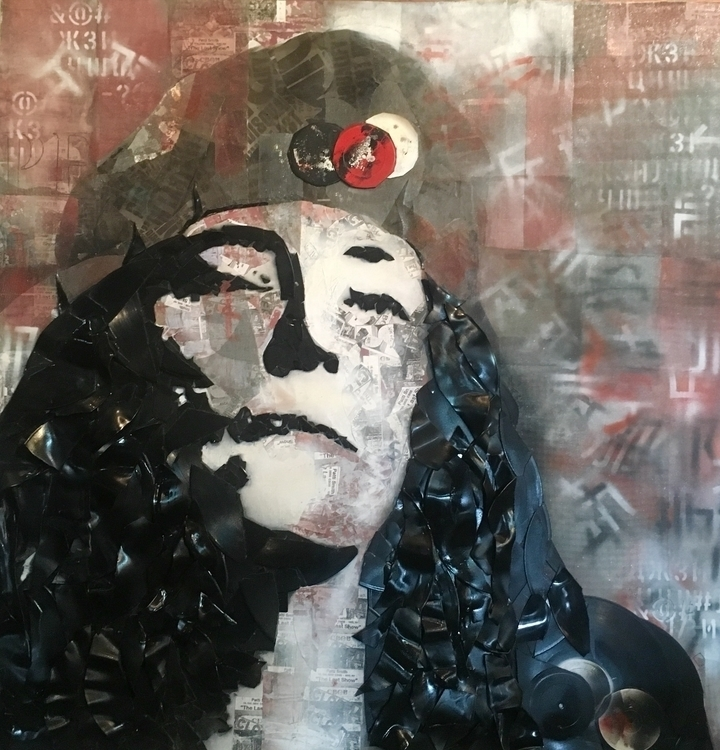 Punkness - pattismith, punk, painting - lorilove | ello