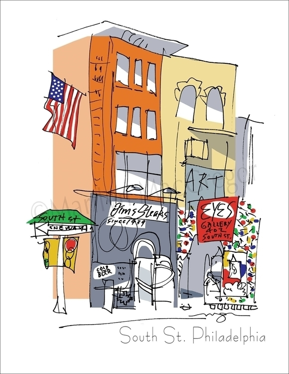South Street, Philadelphia - ar - macgregorart   ello