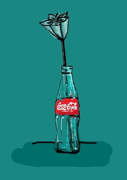Cola Upcycle // Welma Designs - illustration - welmasykes | ello