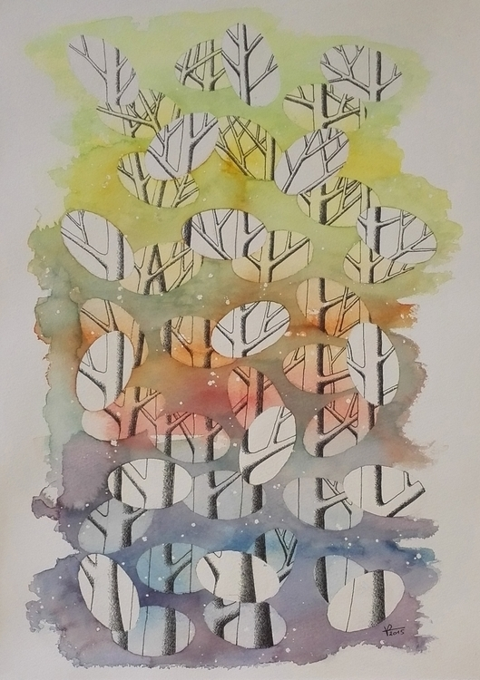illustration, painting, mixedmedia - patrickvandeput | ello