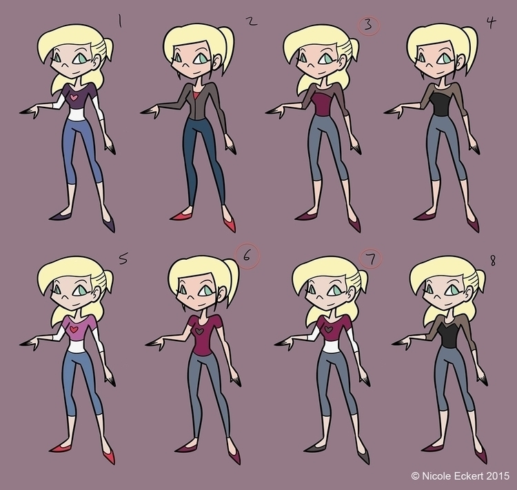 Concept costume study female le - eckertainment | ello