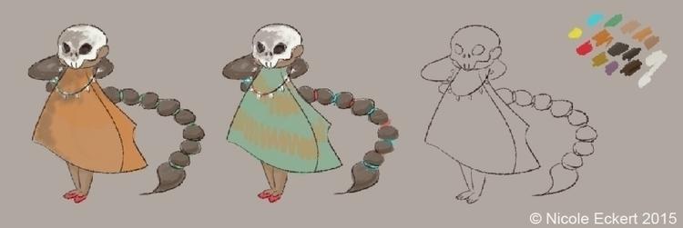 Bone dancer, design based story - eckertainment   ello
